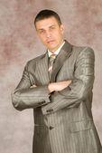 Portrait of the businessman — Stock Photo