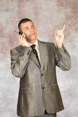 Porträtt av den framgångsrika affärsmannen — Stockfoto