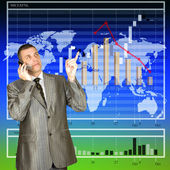 The financial exchange auctions — Stock Photo
