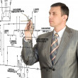 Stock Photo: Engineering designing