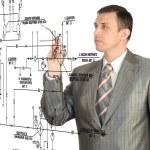 progettazione ingegneria — Foto Stock #4967481