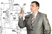 Engineering designing — Stock Photo