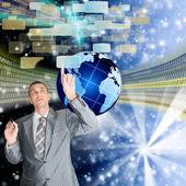Yeni telekomünikasyon teknolojilerini — Stok fotoğraf