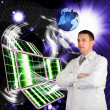 Stock Photo: Nanotechnology