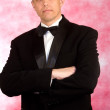 Portrait the man in a classical tuxedo — Stock Photo #5271102