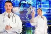Genetické výzkumy — Stockfoto