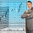 The successful businessman — Stockfoto