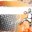 Stock Vector: Handball poster