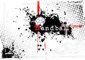 Handball poster — Stock Vector