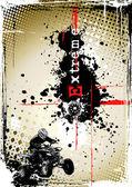 Dirty motorsport poster 2 — Stock Vector