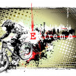 Stock Vector: Biker frame