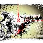 Постер, плакат: Biker frame