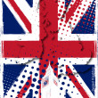 Poster of united kingdom — Vector de stock