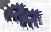 Cogwheels — Stock fotografie