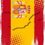 poster di Spagna — Vettoriale Stock