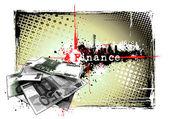 Finance poster — Stock Vector