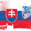 Royalty-Free Stock Imagen vectorial: Ice hockey championship slovakia 2011