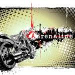 ������, ������: Adrenaline motorbikebike poster
