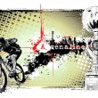 Adrenaline bike poster — Stock Vector #4967908
