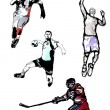 Royalty-Free Stock Vectorielle: Sport quartet