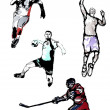 Royalty-Free Stock Vectorafbeeldingen: Sport quartet