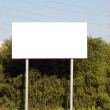 Blank sign with a copy space area — Stock Photo #4831071