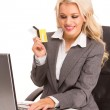 Sexy business woman — Stock Photo #4795014