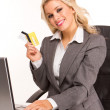 Sexy business woman — Stock Photo #4795034
