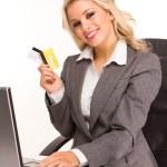Sexy business woman — Stock Photo #4795034