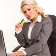 Sexy business woman — Stock Photo #4795036