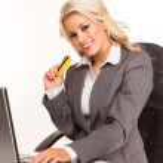 Sexy business woman — Stock Photo #4795036