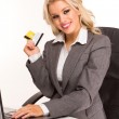 Sexy business woman — Stock Photo #4795039