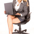 Blonde businesswoman — Stock Photo #4795298