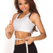 Young fitness woman — Stock Photo #5040856