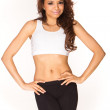 Young fitness woman — Stock Photo #5040869