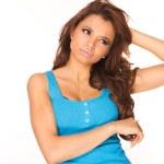 Sexy brunette — Stock Photo #5040951