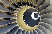 Jet engine detail. — Stock Photo