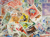 Postage stamps. — Stock Photo