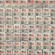 Postage stamps with the USA State Flag. — Stock Photo #5126497