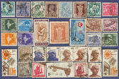Postage stamps of India. — Stock Photo