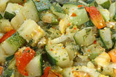 Stewed vegetables diet — Stock Photo