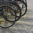 Bicycle parking - Stock Photo