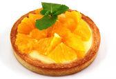Cake with orange — Stock Photo