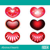 Hearts — Stock Vector