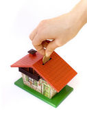 Investment in real estate — Stock Photo