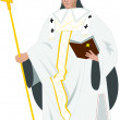 The Bishop of Canterbury — Stock Photo