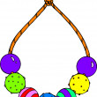 Colorful Beaded Necklace - ストック写真