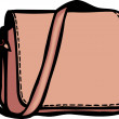 Copperish Biege Purse — Stock Photo