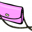 Pink Purse — Stock Photo