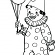 Circus Clown — Stock Photo